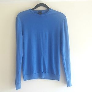 Men's H&M Crewneck Wool Sweater Light Blue